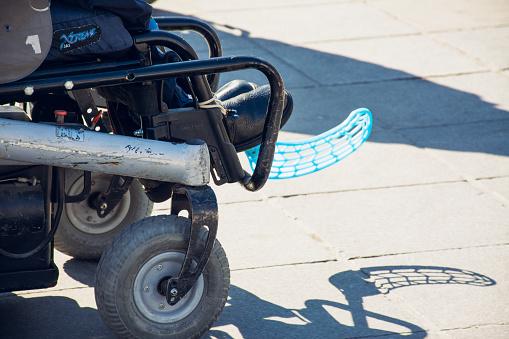A la découverte du foot fauteuil électrique